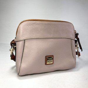Dooney & Bourke J15401849 Lavengrey Pebble Leather Satchel Crossbody Bag